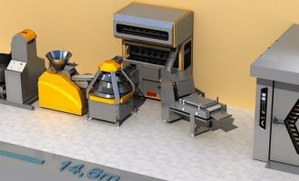 ibakery Complete Bread Production Line 3D